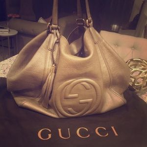 63f59be7a Women Gucci Soho Leather Shoulder Bag on Poshmark